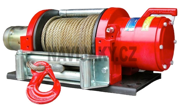 Superwinch E12P 24V Long Drum