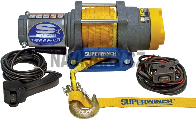 Superwinch Terra 25 SR 2,500 lbs 12V