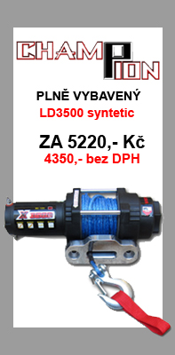 ChampionWinch LD3500 syntetic